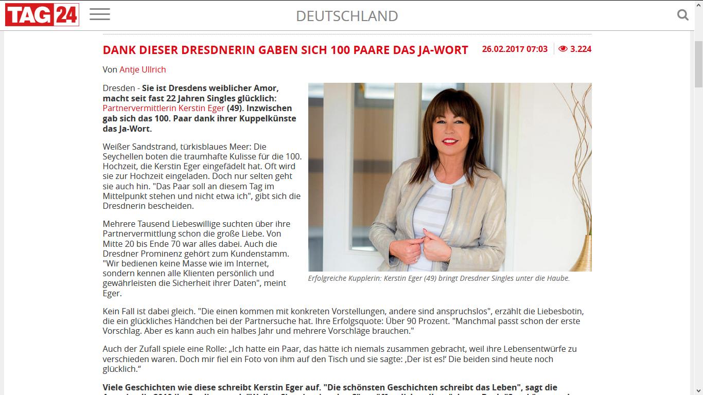 PVA Kerstin Eger Partnervermittlung Einmachbohnen