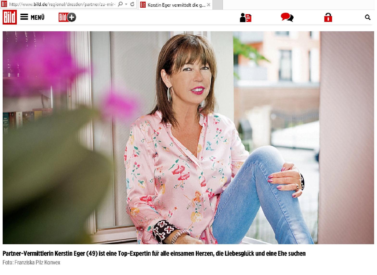 Kerstin Eger Romy van Mader Sex Lügen und Schokolade Bild Zeitung